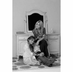 """Olsen Twins Black and White Poster 24""""x36"""""""