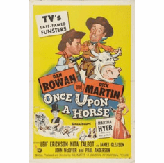 Once Upon A Horse Movie Poster Rowan Martin 24inx36in
