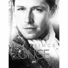 "Once Upon A Time Black and White Poster 24""x36"""