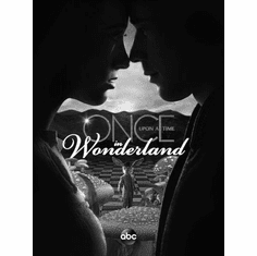 """Once Upon A Time In Wonderland Black and White Poster 24""""x36"""""""
