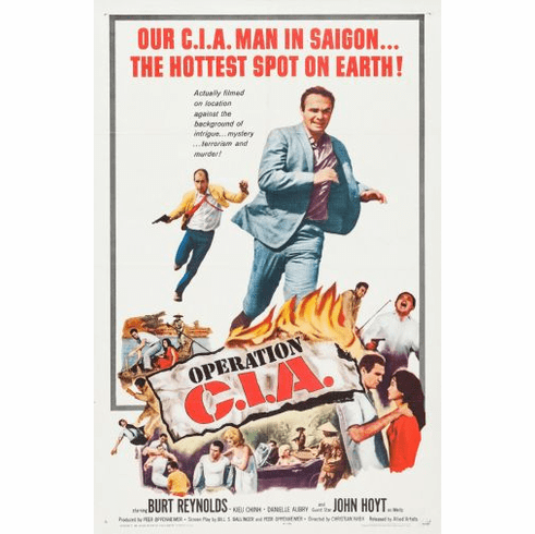 Operation Cia Movie Poster 24in x36in