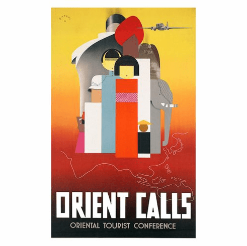 Oriental Tourism Poster 24in x36in