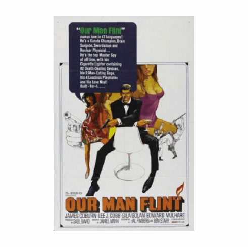 Our Man Flint Movie Poster 24inx36in