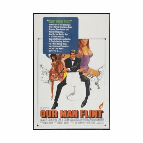 Our Man Flint Poster 24inx36in