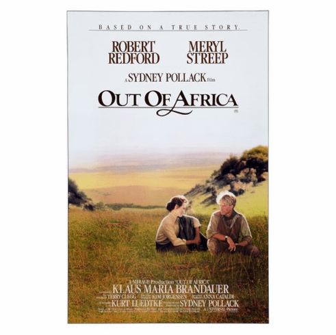 Out Of Africa Movie Poster 24inx36in