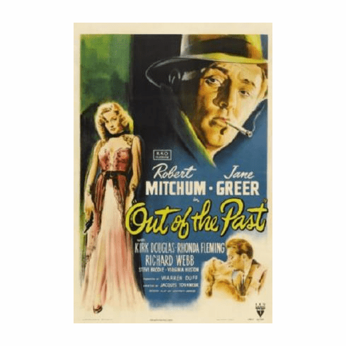 Out Of The Past Movie Poster 24inx36in