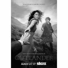 "Outlander Black and White Poster 24""x36"""