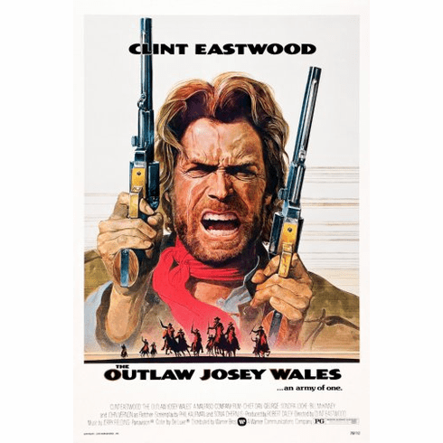 Outlaw Josey Wales The Movie Poster 24inx36in