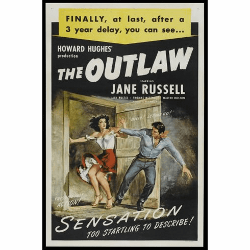 Outlaw Movie Poster 24in x36in