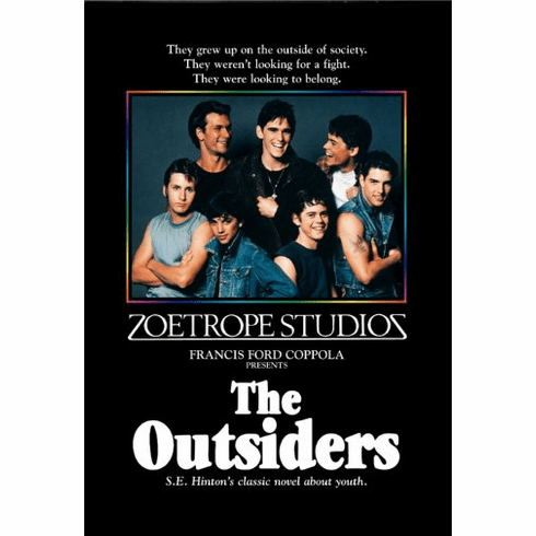 Outsiders The Movie Poster 24inx36in