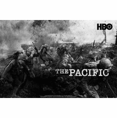 """Pacific The Black and White Poster 24""""x36"""""""