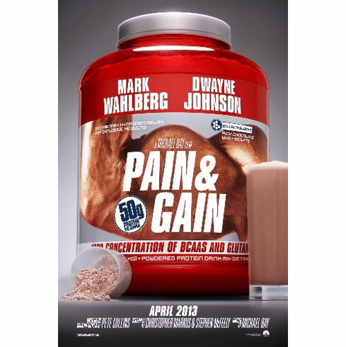 Pain And Gain 11inx17in Mini Movie Poster