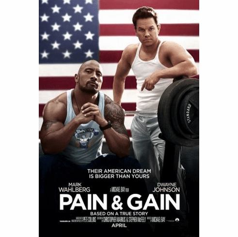 pain and gain Mini Poster 11inx17in poster