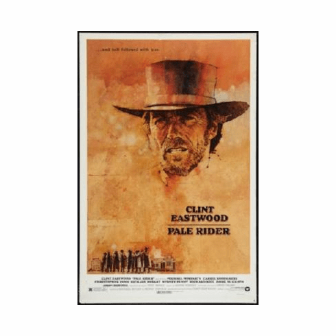 Pale Rider Poster 24inx36in