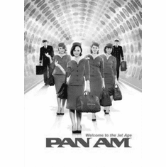 "Pan Am Black and White Poster 24""x36"""