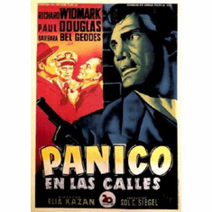 Panic In The Streets Foreign Mini Movie Poster #01 11x17 Mini Poster