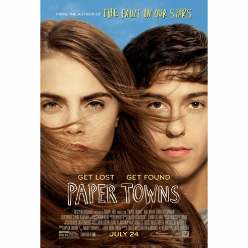 Papertowns Movie Mini poster 11inx17in