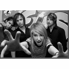 "Paramore Black and White Poster 24""x36"""