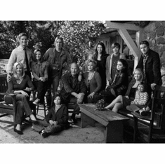 """Parenthood Black and White Poster 24""""x36"""""""