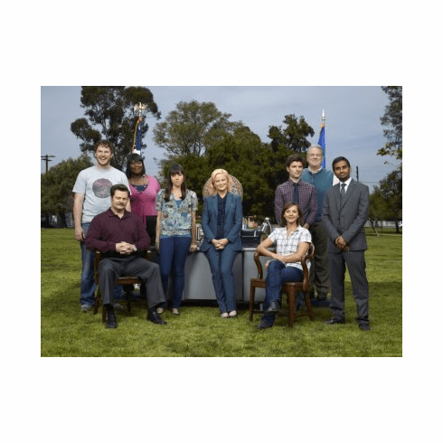 Parks And Recreation Mini Poster 11x17