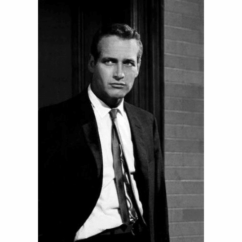 """Paul Newman Black and White Poster 24""""x36"""""""