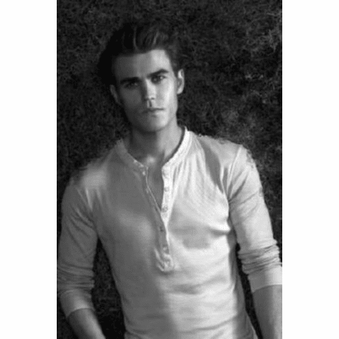 "Paul Wesley Black and White Poster 24""x36"""