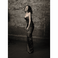 Paula Cole Poster Gown 24in x36 in