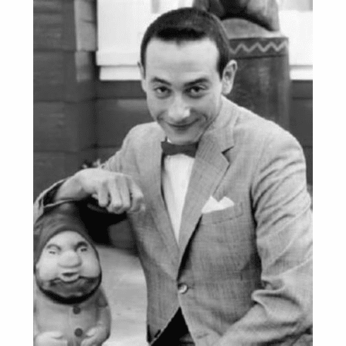 """Pee Wee Herman Black and White Poster 24""""x36"""""""
