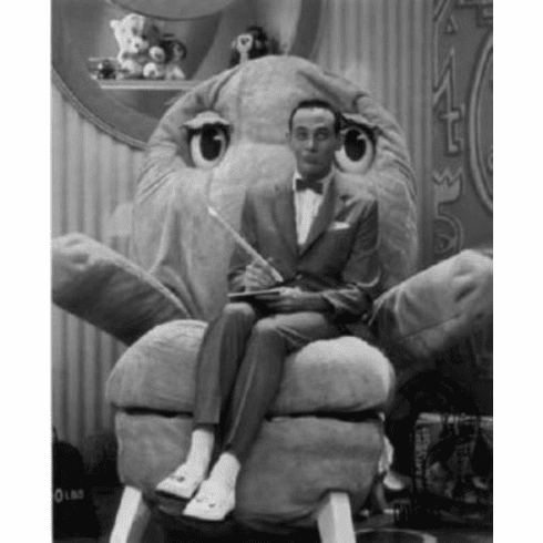 "Pee Wee Herman Black and White Poster 24""x36"""
