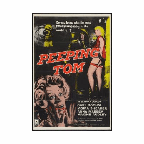 Peeping Tom Poster 24inx36in