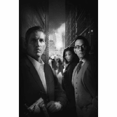 "Person Of Interest Black and White Poster 24""x36"""