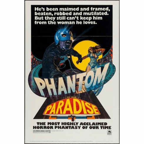 phantom of the paradise Mini Poster 11inx17in poster
