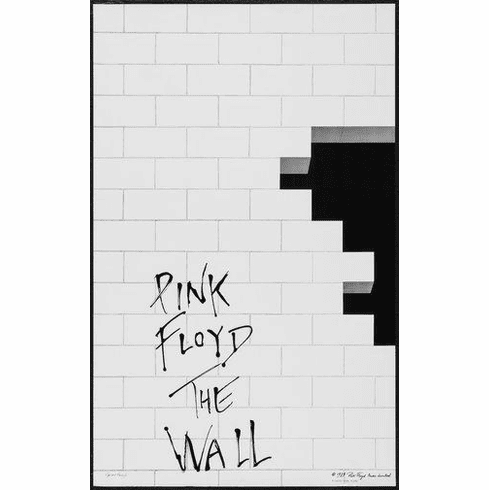 "Pink Floyd Black and White Poster 24""x36"""