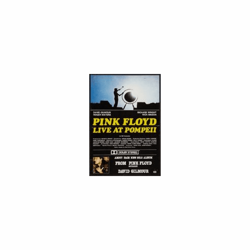 Pink Floyd Live At Pompeii Mini poster 11inx17in