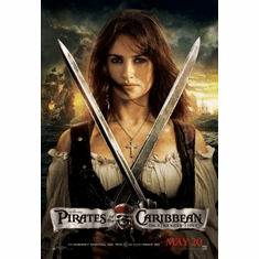 Pirates Of The Caribbean On Stranger Tides Mini Poster 11x17