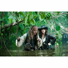 Pirates On Stranger Tides Mini Poster 11x17in