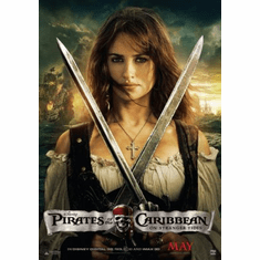 Pirates On Stranger Tides Mini Poster 11x17in Penelope Cruz