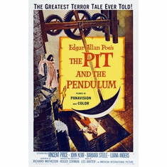 Pit And The Pendulum Movie Poster 11x17 Mini Poster