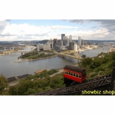 Pittsburgh Skyline photography 8x10 photo master print