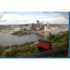 Pittsburgh Skyline Poster 24inx36in