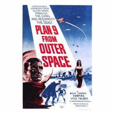Plan 9 From Outer Space Movie Poster 11x17 Mini Poster
