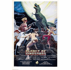 Planet Of Dinosaurs Movie Poster 11x17 Mini Poster