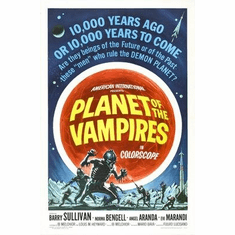 Planet Of Vampires Movie Poster 11x17 Mini Poster