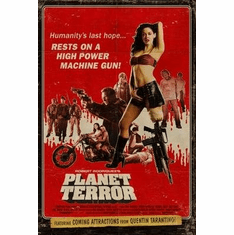 Planet Terror Movie Poster 11x17 Mini Poster