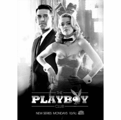 "Playboy Club Black and White Poster 24""x36"""