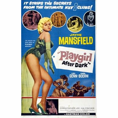 Playgirl After Dark Jayne Mansfield Movie Poster 11x17 Mini Poster