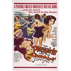 Playgirls And The Vampire Movie Poster 11x17 Mini Poster