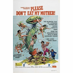 Please Dont Eat My Mother Movie Poster 11x17 Mini Poster