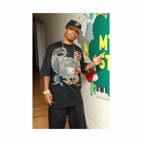 Plies Poster Pointing, Wall 11x17 Mini Poster