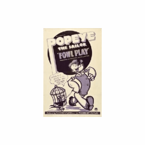 Popeye Foul Play Movie Poster 11x17 Mini Poster